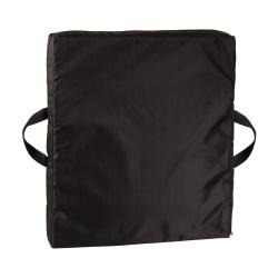 "DMI® Reversible Gel Foam Seat Cushion, 16""H x 18""W x 2""D, Black"