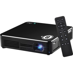Business Source DLP Projector - Black - Front - 80 lm - HDMI - USB
