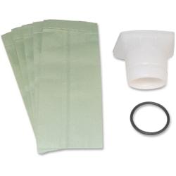 Hoover Portapower Vacuum Cleaners Bag Adapter Kit - 1 Each - White, Green, Black