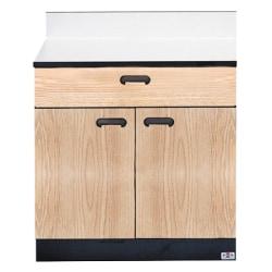 """Hausmann 1-Drawer Treatment Cabinet, 30""""H x 16""""W x 30""""D, Oak"""