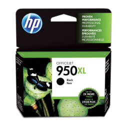 HP 950XL High-Yield Black Ink Cartridge (CN045AN)