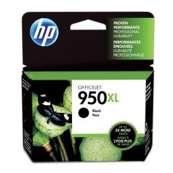 HP 950XL High Yield Original Ink Cartridge, Black (CN045AN)