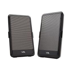 Cyber Acoustics CA-2988 USB Portable 2-Piece Speaker System, black