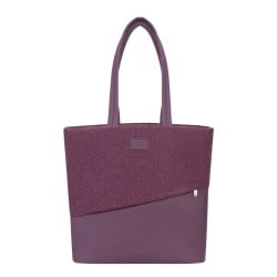 "RIVACASE 7991 Egmont Tweed Tote Bag With 13.3"" Laptop Pocket, Red"