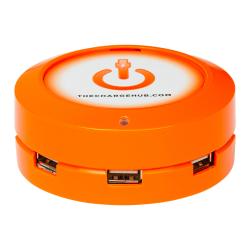 ChargeHub X5 5-Port USB Charger, Orange, CRGRD-X5-007