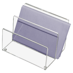 "Kantek Mini Sorter, 4"" x 4 1/8"" x 6 5/16"", Clear"
