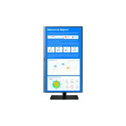 "Samsung S24R650FDN - SR650 Series - LED monitor - 24"" (23.8"" viewable) - 1920 x 1080 Full HD (1080p) @ 75 Hz - IPS - 250 cd/m² - 1000:1 - 5 ms - HDMI, VGA, DisplayPort - dark gray/blue"