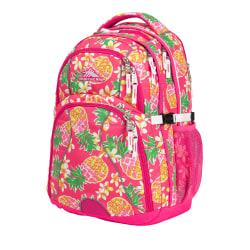 High Sierra® Swerve Laptop Backpack, Flamingo/Pink PineApple®