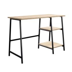 Sauder® North Avenue Single-Pedestal Desk, Charter Oak