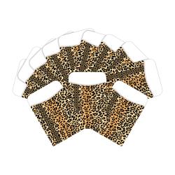 "Barker Creek Peel & Stick Library Pockets, 3"" x 5"", Safari Leopard, Pack Of 60 Pockets"