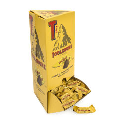Toblerone Tinys Changemaker Bars, 0.28 oz, Pack Of 100