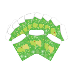 "Barker Creek Peel & Stick Library Pockets, 3"" x 5"", Go Green, Pack Of 60 Pockets"
