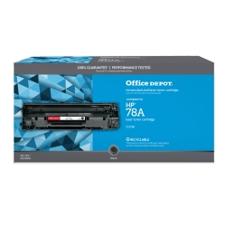 Office Depot® Brand OD78A Remanufactured Toner Cartridge Replacement For HP 78A Black