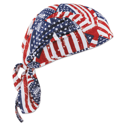 Chill-Its 6615 High-Performance Dew Rags, 6 in X 20 in, Stars/Stripes,,,,,,,,,,,,,,,,,,,