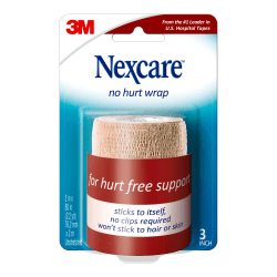 "3M™ Nexcare™ Coban™ Self-Adherent Bandages, 3""x 5 Yd. Stretched, Tan"