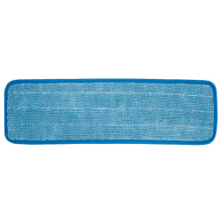 """Wilen Cleaning Products Microfiber Mop, 13"""", Blue"""