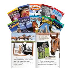 Teacher Created Materials TIME FOR KIDS® Nonfiction Book Set, Set 2, Set Of 10 Books, Grade 2
