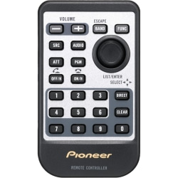 Pioneer Device Remote Control - For Car Audio System
