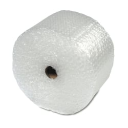 "Air Cellular Cushioning Material, 12 1/4""W, Medium Bubble (5/16""), 100 Feet (Bonus Length)"
