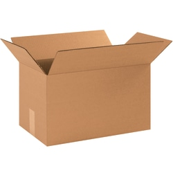 """Office Depot® Brand Corrugated Boxes, 9""""H x 9""""W x 16""""D, 15% Recycled, Kraft, Bundle Of 25"""