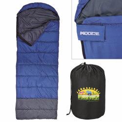 """Custom Koozie Kamp Sleeping Bags, 30"""" x 82"""", Set Of 6 Bags"""
