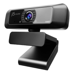 j5create USB™ HD Webcam with 360° Rotation and 1080P, JVCU100