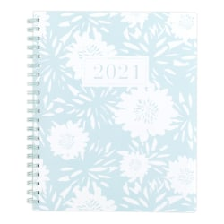 "See Jane Work® Professional Weekly/Monthly Planner, 8-1/2"" x 11"", Pastel Blue, January To December 2021, SJ106-905"