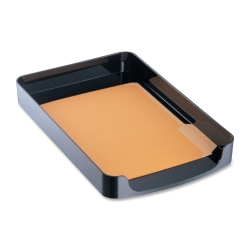 OIC® 2200 Series Front-Loading Tray, Legal Size, Black