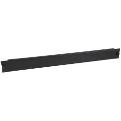 """StarTech.com Blanking Panel - 1U - 19in - Tool-less - Steel - Black - TAA Compliant - Blank Rack Panel - Filler Panel - Steel, Plastic - Black - 1U Rack Height - 1 Pack - 1.3"""" Height - 2.2"""" Width - 19.3"""" Depth - TAA Compliant"""