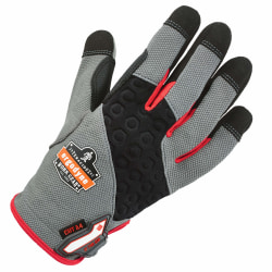 Ergodyne ProFlex 710CR Armortex Heavy-Duty Cut-Resistant Gloves, Small, Gray