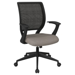 Office Star™ Work Smart Mesh Task Chair, Gold Dust/Black