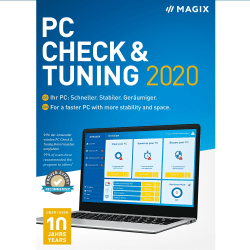 MAGIX PC Check & Tuning 2020 (Windows)