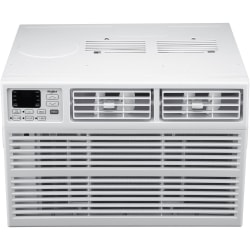 "Whirlpool Energy Star Window-Mounted Air Conditioner With Remote, 10,000 BTU, 14 3/4""H x 21 1/2""W x 19 13/16""D, White"