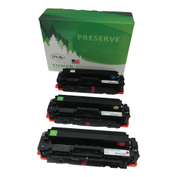 IPW Preserve Brand 54T-XM3-ODP Remanufactured High-Yield Tri-Color Ink Cartridge Replacement For HP CF253XM, Pack Of 3