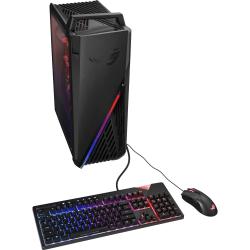 Asus ROG Strix GA15DH-ES557 Gaming Desktop Computer - AMD Ryzen 5 3600X 3.80 GHz - 8 GB RAM DDR4 SDRAM - 512 GB SSD - Tower - Windows 10 Home 64-bit - AMD Radeon RX 5700 XT 8 GB - IEEE 802.11ac