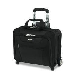 "Samsonite® Wheeled Business Case, 13""H x 17""W x 6 1/2""D, Black"