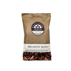 Executive Suite® Breakfast Blend Medium-Roast Coffee, 1.5 Oz, Box Of 42 Packets