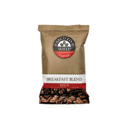 Executive Suite® Breakfast Blend Bold Coffee, 1.5 Oz, Box Of 42 Packets