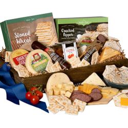 Gourmet Gift Baskets Gourmet Meat & Cheese Sampler