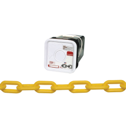 Campbell® #8 Plastic Chain, Yellow
