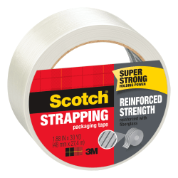 "Scotch® Strapping Tape, 1.88"" x 30 Yd."