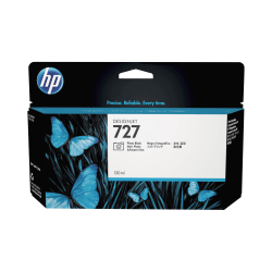 HP 727 Original Ink Cartridge - Single Pack - Inkjet - Standard Yield - Photo Black - 1 Each