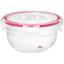 LocknLock Easy Match 480 ml Round Container - 16.3 fl oz Food Container - Polypropylene - Dishwasher Safe - Microwave Safe - Clear - 6 Piece(s) / Case