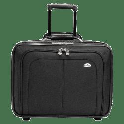 """Samsonite® Zip Away Ballistic Rolling Notebook Case, 13"""" x 17.25"""" x 7.5"""", Black"""