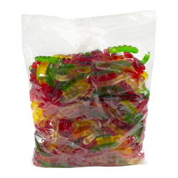 Albanese Confectionery Gummies, Assorted Gummy Worms, 5-Lb Bag