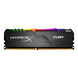 HyperX FURY RGB - DDR4 - 32 GB: 2 x 16 GB - DIMM 288-pin - 3000 MHz / PC4-24000 - CL15 - 1.35 V - unbuffered - non-ECC - black