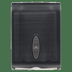 "Georgia-Pacific® See-Thru Combifold Towel Dispenser, 15 2/5"" x 11"" x 5 1/2"", Smoke"