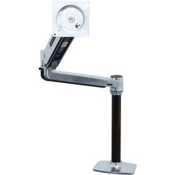 "Ergotron Mounting Arm for Flat Panel Display - Polished Aluminum - 46"" Screen Support - 30 lb Load Capacity"