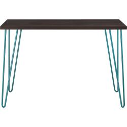 Ameriwood™ Home Owen Retro Desk, Espresso/Teal