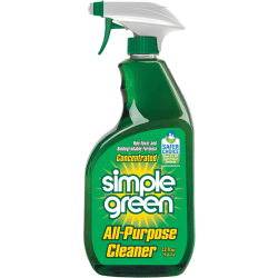 Simple Green All-Purpose Concentrated Cleaner - Concentrate Liquid - 0.25 gal (32 fl oz) - 12 / Carton - Green